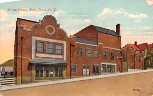 Opera House Port Jervis, New York Postcard