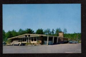 ME BAR HARBOR Grill & Coffee Shop MAINE Postcard PC