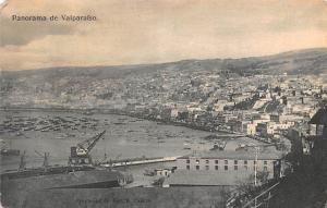 Valparaiso Republic of Chile Panorama Valparaiso Panorama