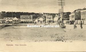 curacao, W.I., WILLEMSTAD, Plaza Concordia (1910s)