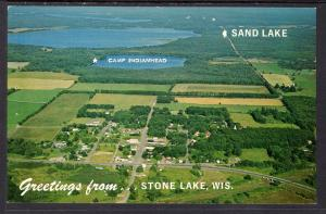 Greetings From Stone Lake,WI