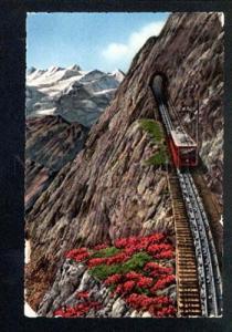 046954 SWITZERLAND train in Berneralpen Vintage PC