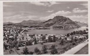 Switzerland Lugano Panorama e Monte Bre Photo