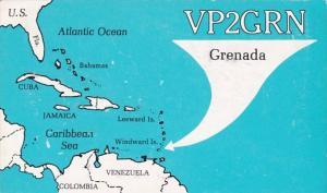 QSL Card VP2GRN Grenada