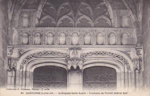 GUERANDE, Loire Atlantique, France, 1900-1910´s; Collegiate Saint-Aubin - Tr...