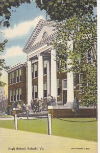 High School Puilaski Virginia