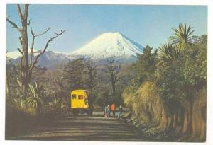 Mountain Goat  tour bus, Mt Ngauruhoe National Park, New Zealand, 50-80s