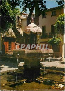 Postcard Modern Thuit (P O) La Fontaine