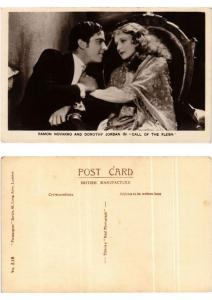 CPA Ramon Novarro and Dorothy Jordan in Call of the Flesh FILM STAR (398939)