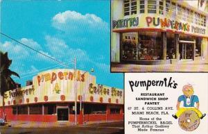 Florida Miami Beach Pumpernik's Restaurant & Pantry