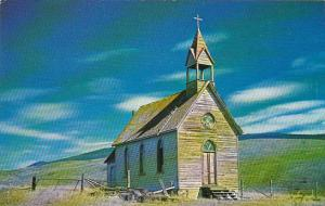 St Annes Catholic Church O'Keefe Ranch Vernon British Columbia Canada
