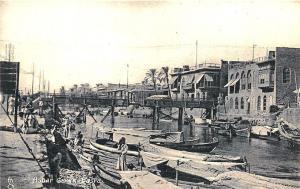 Basra Iraq Ashar Greek Boats Raphael Tuck Postcard