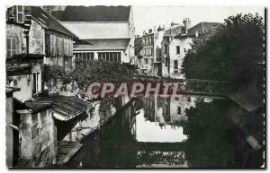 Modern Postcard Dreux Eure et Loir The Banks of the Blaise