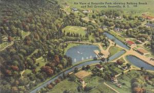Air view of Boonville Park, showing Bathing Beach and Ball Grounds, Boonville...