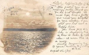 LPS37 Wolfeboro New Hampshire Lake View Postcard RPPC
