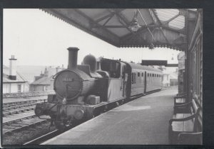Railway Postcard - Engine No.1466 With a Train From Churston at Brixham  T8021