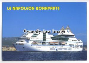 FE1028 - SNCM Ferryterranee Ferry - Napoleon Bonaparte , built 1996 - postcard