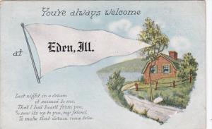 Pennant Series Eden Illinois 1919