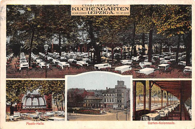 Germany Establissement, Kuchengarten, Leipziga  Establissement, Kuchengarten,...