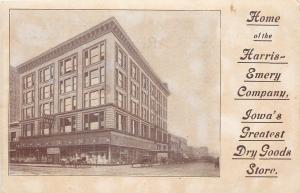 Des Moines Iowa~Harris-Emery Co~Department Store~Mannequins~7th And Walnut~1910