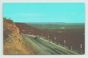 Panoramic View Highway 7 Ozarks Harrison Russellville Arkansas Postcard Vintage