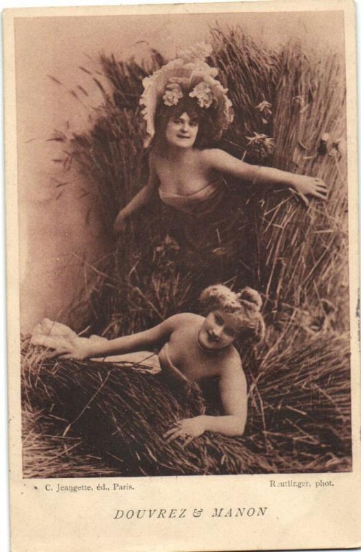 DOUVREZ & MANON CPA Artiste Theatre Star (13055)