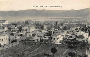 Lebanon Beyrouth Vue Generale General view Postcard