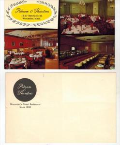 1963  MA  Worcester    PUTNAM & Thurstons  Restaurant Dinning Rooms