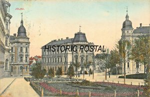 JGLAU CZECH REPUBLIC~HERMANN SEIBT 1908 PHOTO POSTCARD