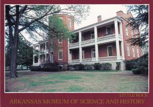 Arkansas Museum Of Science And History Little Rock Arkansas