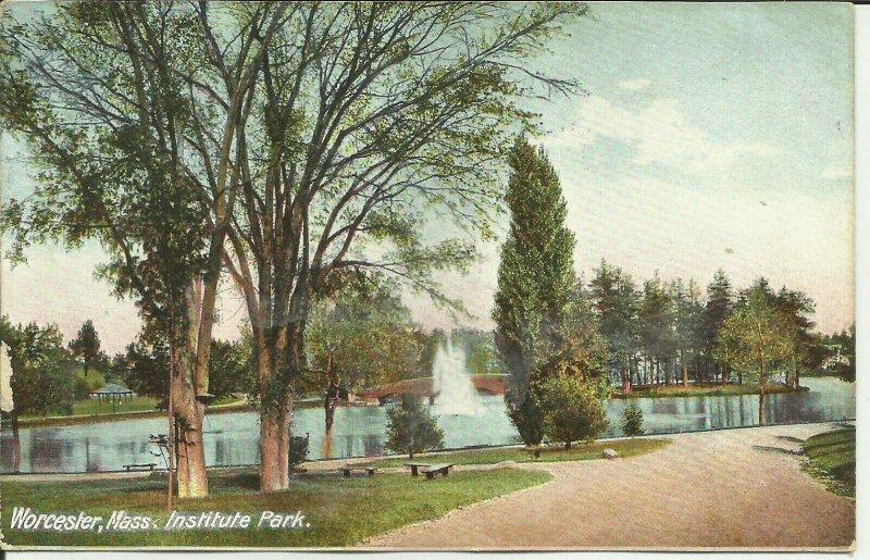 Worcester, Mass., Institute Park