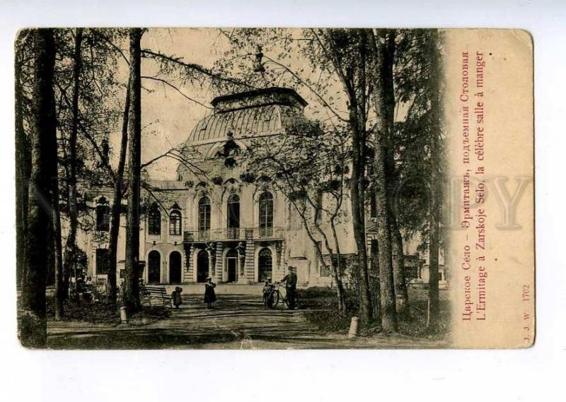 189198 RUSSIA TSARSKOE SELO Hermitage lift dining Old JJW#1702