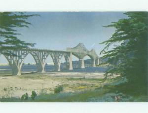 Unused Pre-1980 BRIDGE SCENE Marshfield Oregon OR HQ9347-22
