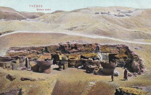 THEBES, Egypt, 1900-1910s; Maison Arabe