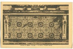 Italy, Certosa di Pavia, Mosaico, ealry1900s unused Postcard