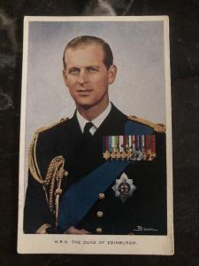 Mint England Real Picture RPPC Postcard HRH The Duke Of Edinburgh
