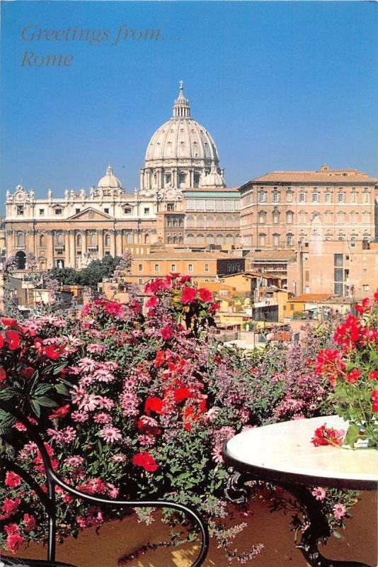 Italy Greetings from Rome La Terrazza Paradiso Roof-Garden Hotel ...