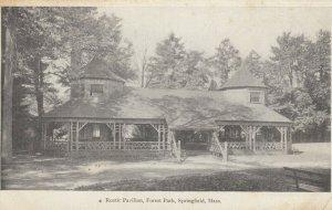 SPRINGFIELD , Massachusetts , 1901-07 ; Rustic Pavilion , Forest Park