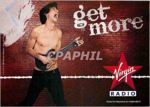 Modern Postcard Get more Virgin Radio