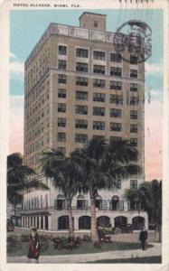 Florida Miami Hotel Alcazar 1928