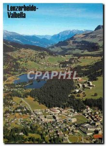 Postcard Modern Lenzerheide Valbella