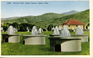 UT - Ogden Canyon. Artesian Park