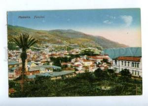 173100 PORTUGAL MADEIRA FUNCHAL view Vintage postcard