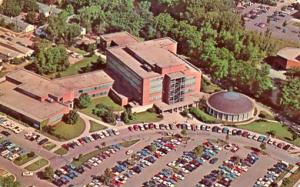 MI - East Lansing, Michigan State University, Aerial View, College of Educati...