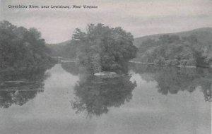 West Virginia Lewisburg Greenbrier River Albertype