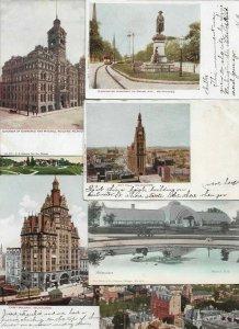 USA Milwaukee Wisconsin Postcard Lot of 20   01.14