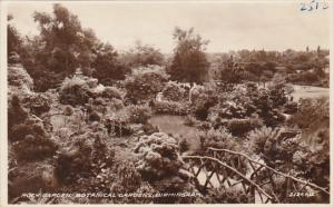 Alabama Birmingham Rock Garden In Botanical Gardens 1944 Real Photo