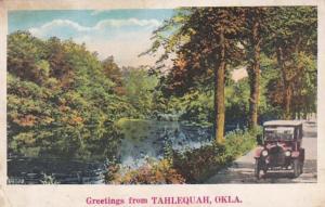 Oklahoma Greetings From Tahlequah 1929