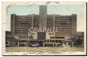 Old Postcard Clichy L & # 39hopital Beaujon