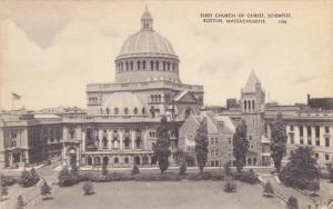 First Church Of Christ, Scientist, Boston, Massachusetts, 1910-1920s